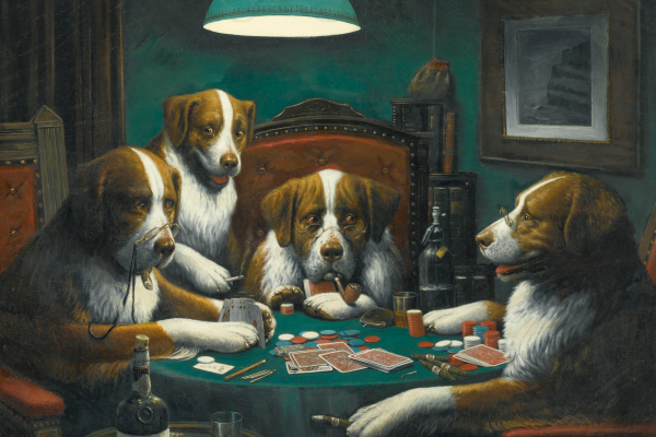 Top 3 Gambling Inspired Painting by Famous Artists