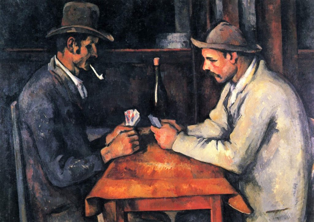 The Card Players – Cézanne