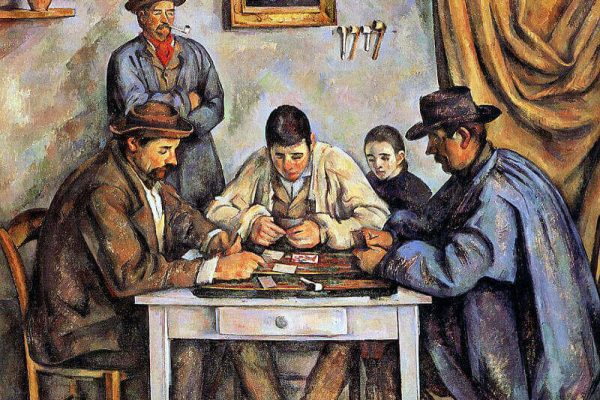 Popular Paintings Portraying Gambling