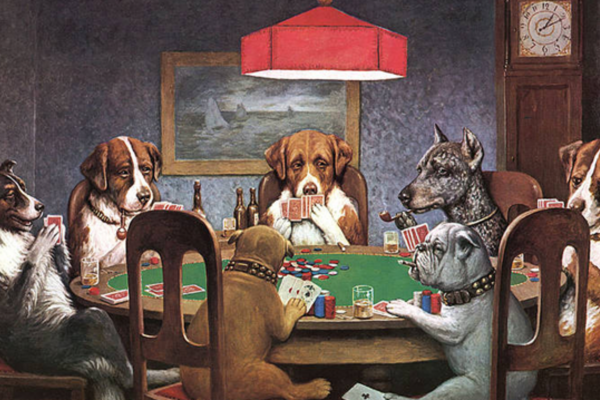 """Few Crazy Facts on """"Dogs Playing Poker"""""""